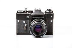 Vieil appareil-photo, rétro pousse de film Photos libres de droits