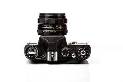 Vieil appareil-photo, rétro pousse de film Photos stock