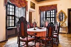 Vieil appartement de château. Photos libres de droits