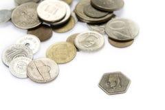 Vieil argent Photographie stock