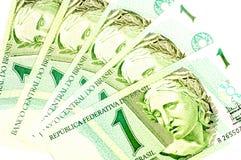 Vieil argent brésilien photos stock