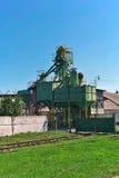 Vieil ascenseur de texture Image stock