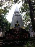 Vieil Asiatique de budha d'un dieu antique de la Thaïlande Photos stock
