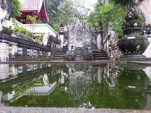 Vieil Asiatique Thaïlande de roche d'art de Budha Photo stock