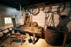 Vieil atelier Image stock