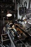 Vieil atelier Images libres de droits