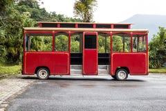 Vieil autobus de classicr Photographie stock libre de droits