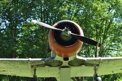 Vieil avion Photographie stock