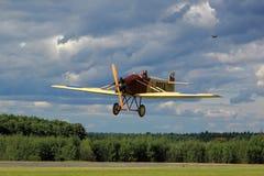 Vieil avion Avia BH5 Image libre de droits