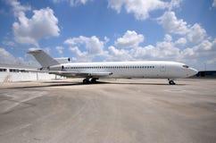 Vieil avion d'avion à réaction Image libre de droits