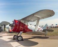 Vieil avion de combat Image libre de droits