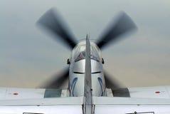 Vieil avion de combat Photos libres de droits