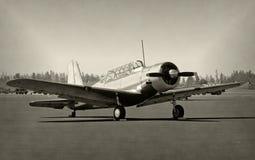 Vieil avion de propulseur photographie stock libre de droits