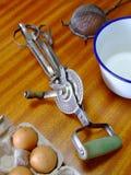 Vieil Egg-Beater photo stock
