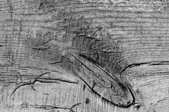 Vieil en bois avec les WI criqués de fond de surface de soulagement de tranche de conseil Photographie stock