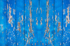 Vieil en bois bleu pour le fond Image stock