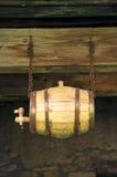vieil en bois de baril Images libres de droits