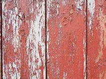 Vieil en bois peint Photos libres de droits