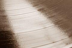 Vieil enregistrement de phonographe Image stock