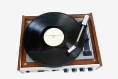 Vieil enregistrement de phonographe de joueur photos stock
