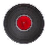 Vieil enregistrement de vinyle d'isolement photos stock