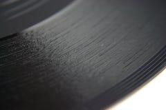 Vieil enregistrement de vinyle DOF peu profond Image libre de droits