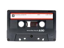 Vieil enregistreur à cassettes Photographie stock