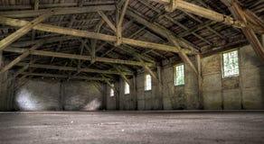vieil entrepôt abandonné Photographie stock