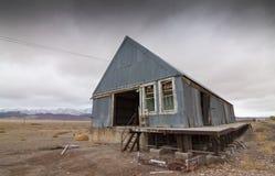 Vieil entrepôt abandonné Image libre de droits
