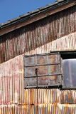 Vieil entrepôt Photo stock