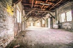 Vieil entrepôt Photo libre de droits