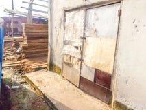 Vieil entrepôt modèle Image stock