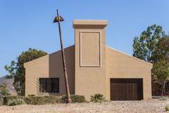 Vieil entrepôt reconstitué Photo libre de droits