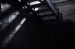 Vieil escalier Photos libres de droits