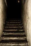Vieil escalier Image libre de droits