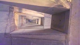 Vieil escalier en pierre Photos stock
