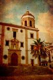 vieil Espagnol d'église Photo stock