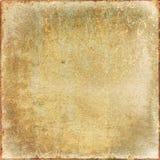 Vieil exposé introductif sale et texture Images stock