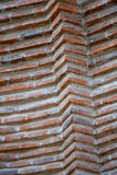 Vieil extérieur de construction de brique Photo libre de droits