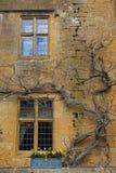 Vieil extérieur en pierre de Cotswold Images libres de droits