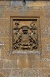 Vieil extérieur en pierre de Cotswold Images stock