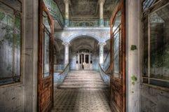 Vieil hôpital dans Beelitz Photo libre de droits