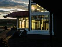 Vieil hôtel l'islande photo stock