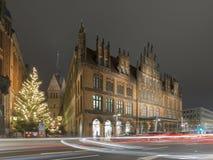 Vieil hôtel de ville à Hanovre Photographie stock libre de droits