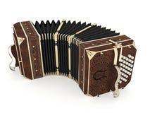 Vieil harmonica Photos stock