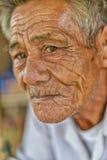 Vieil homme asiatique Image libre de droits