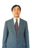Vieil homme d'affaires thaïlandais âgé photographie stock libre de droits