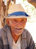 Vieil homme de Malagsy Images libres de droits