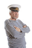 Vieil homme de marin Photographie stock