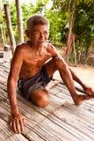 Vieil homme de sourire Photographie stock libre de droits